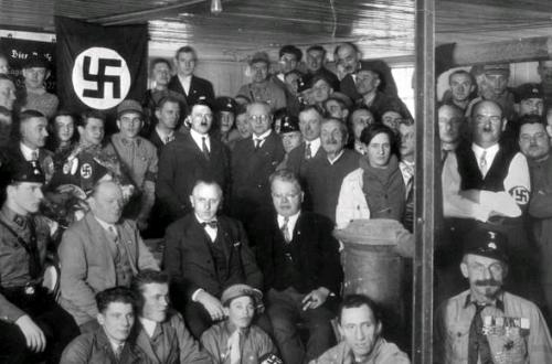 Nazi manifesto on LabourHub